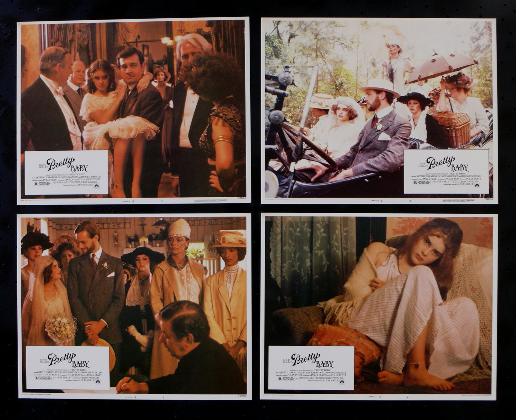 Details about PRETTY BABY * ORIG LOBBY CARD SET 1978 BROOKE SHIELDS