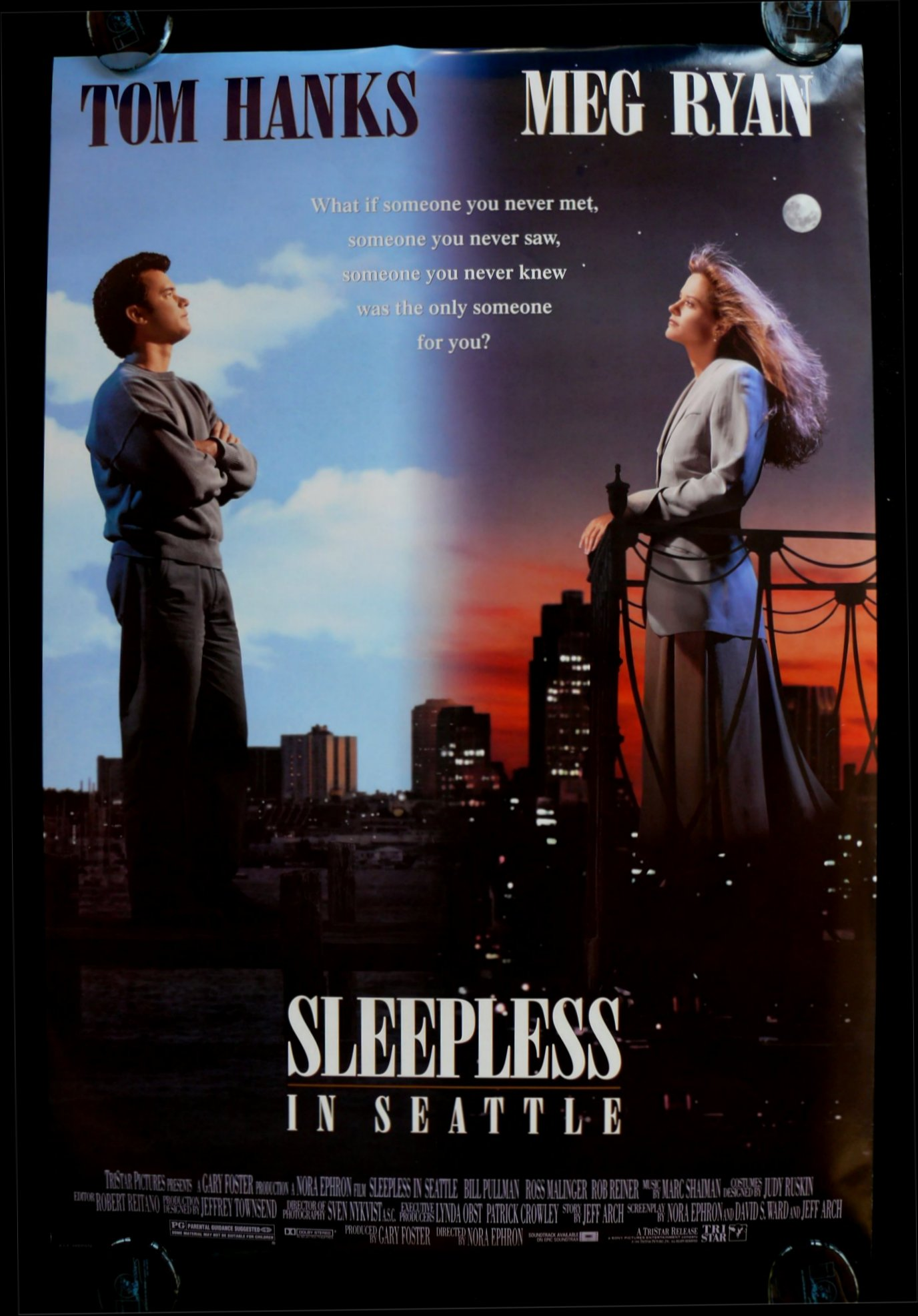 a movie analysis of sleepless in seattle Critic consensus: sleepless in seattle is a cute classic with a very light touch and real chemistry between the two leads -- even when spending an entire movie apart.